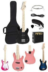 30in Kids Electric Guitar Instrument Starter Kit