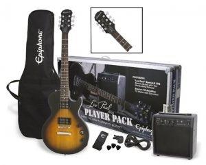 Epiphone Les Paul Electric Guitar Player Pack Sunburst